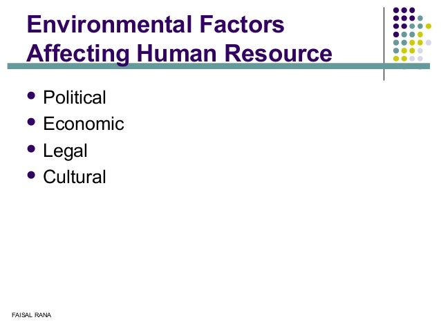 """factors affecting personnel human resources management In section 13 """"today's hrm challenges"""", we go into more depth about some recent external issues that are affecting human resource management roles in section 112 """"the role of hrm"""" , we discuss some of the skills needed to be successful in hrm."""