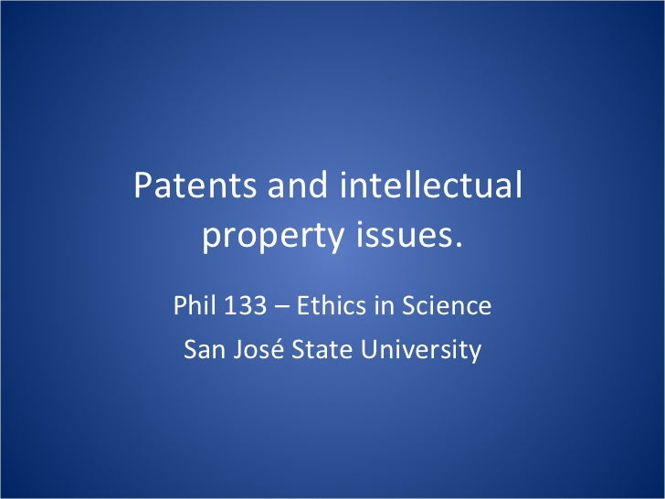 Lec15 Patents and Intellectual Property