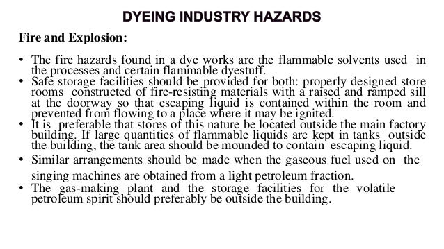 • Many factories use hypochlorite solution for bleaching; in others the bleaching agent is gaseous chlorine or bleaching p...