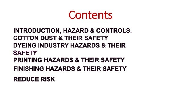 • Hazard is a term associated with a substance that is likelihood to cause an injury in a given environment or situation. ...
