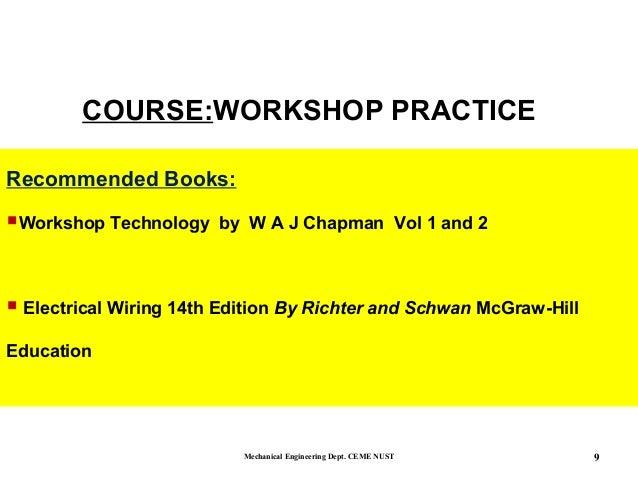 Workshop practice beginning - machining tools