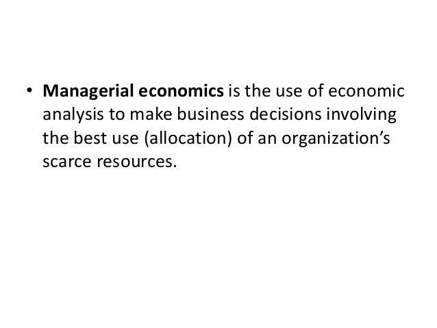 relation of managerial economics with other disciplines The other ten are aimed at final-year economics the course strives to offer understanding of the theory of finance and its relation managerial economics.
