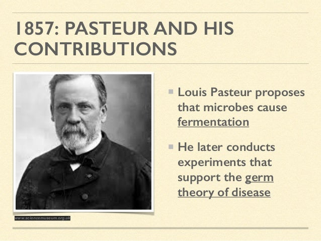 an introduction to the life of louis pasteur Sample formal lab report introduction: early man believed that life originated from non-living matter in 1861, louis pasteur developed a flask with an s-shaped curve for its opening (swan necked flask figure 1.