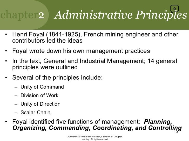 """henry foyal s 14 rules of management Henri fayol (1841-1925) was a french engineer and director of mines  in  conformity with established rule and expressed command, checking on  fayol"""" s five functions of management and his 14 principles of management lead to an."""