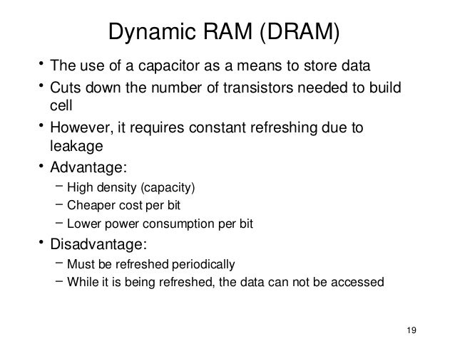 difference between static ram and dynamic ram pdf