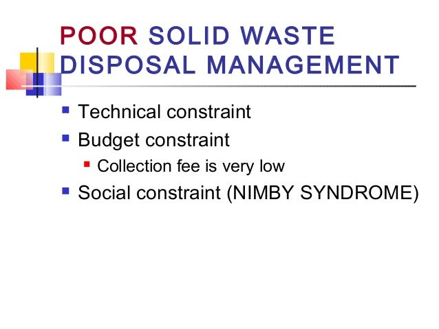 Intoduation to Solid Waste Engineering
