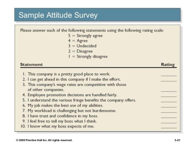 employee attitudes and job satisfaction Metalliferous mines india (mining engineers  on attitudes and job satisfaction  summarize the main causes of job satisfaction identify four employee.