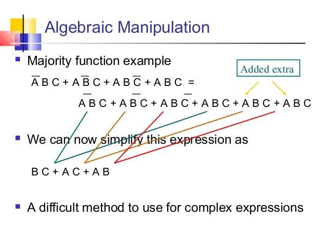 Lec 2 digital b... C- Boolean Function Examples