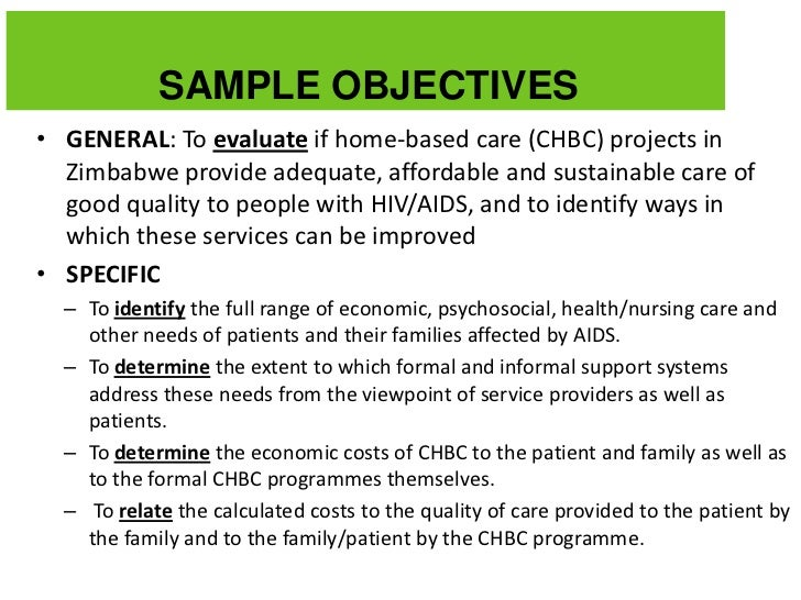 Attractive SAMPLE OBJECTIVESu2022 ... And Examples Of Objectives