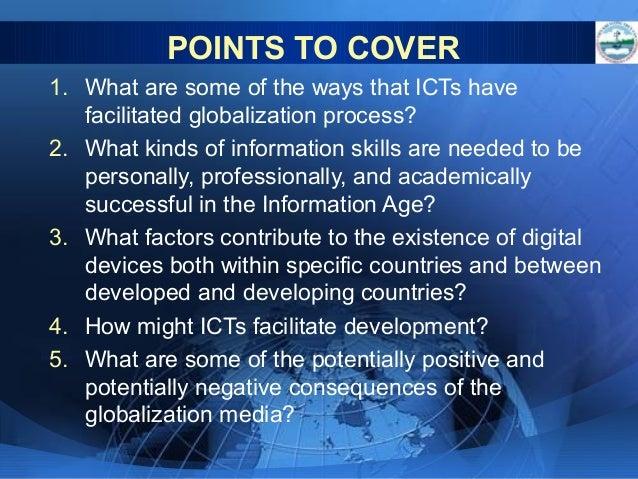 factors that facilitate globalization