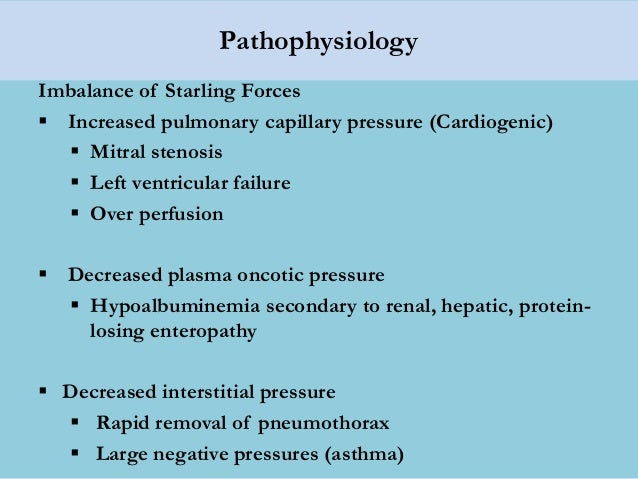 Lec 3 Management Of Acute Pulmonary Oedema For Mohs
