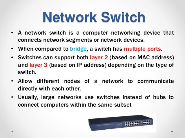 Network hardware essentials Lec#3