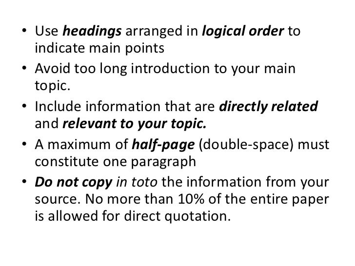 how to write review of related literature