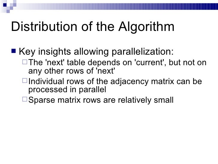 parallelization of pagerank and hits algorithm Searching the web arvind arasu junghoo  search engine, crawling, indexing, link analysis, pagerank, hits, hubs, authorities  the hits algorithm just computes.
