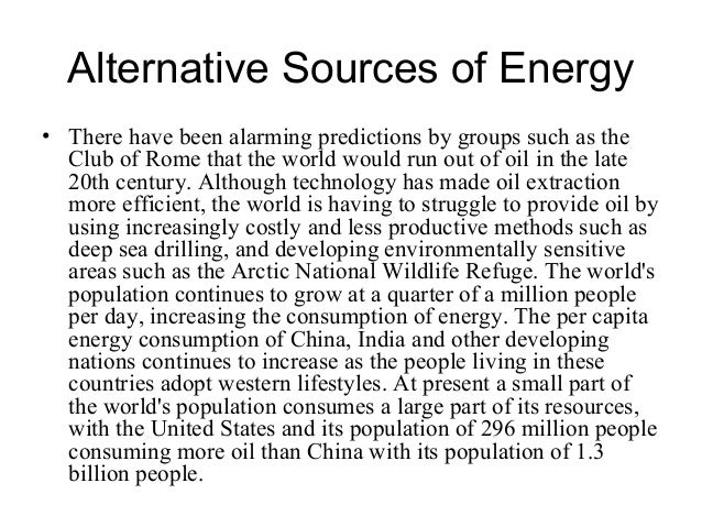 energy problems and solutions