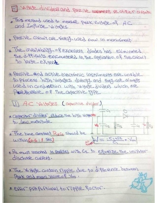 Lec(9):capacitive divider
