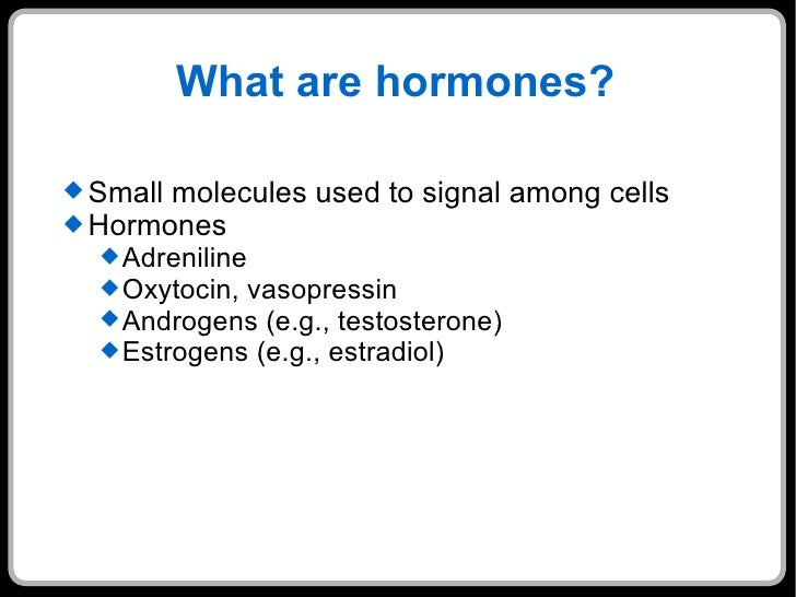 lec8 hormonal control, Human body