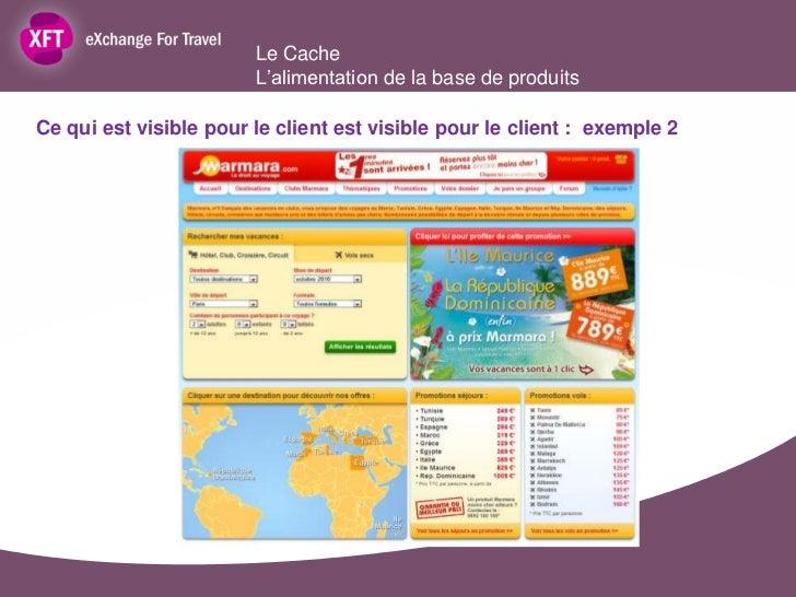 Le Cache                        L'alimentation de la base de produitsCe qui est visible pour le client est visible pour le...