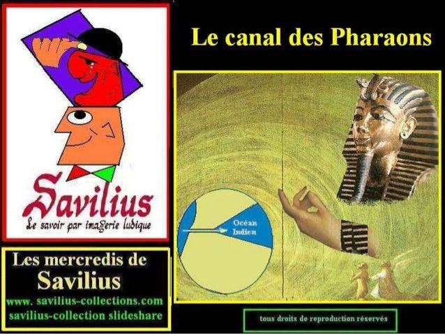 Le canal des Pharaons