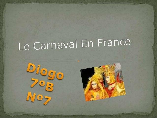 Certains historiens affirment que l'histoire du carnaval est liée aux fêtes données par les armateurs lors des départs pou...
