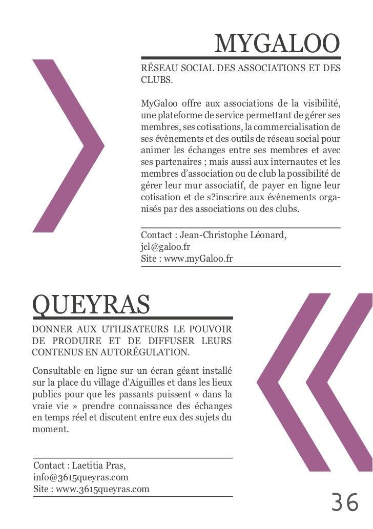 MYGALOO                                  RÉSEAU SOCIAL DES ASSOCIATIONS ET DES                                   MyG...