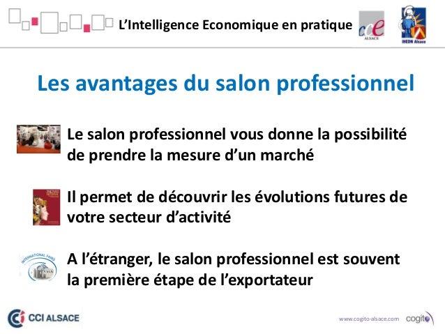 Le cas du salon professionnel cogito expo13 Salon professionnel