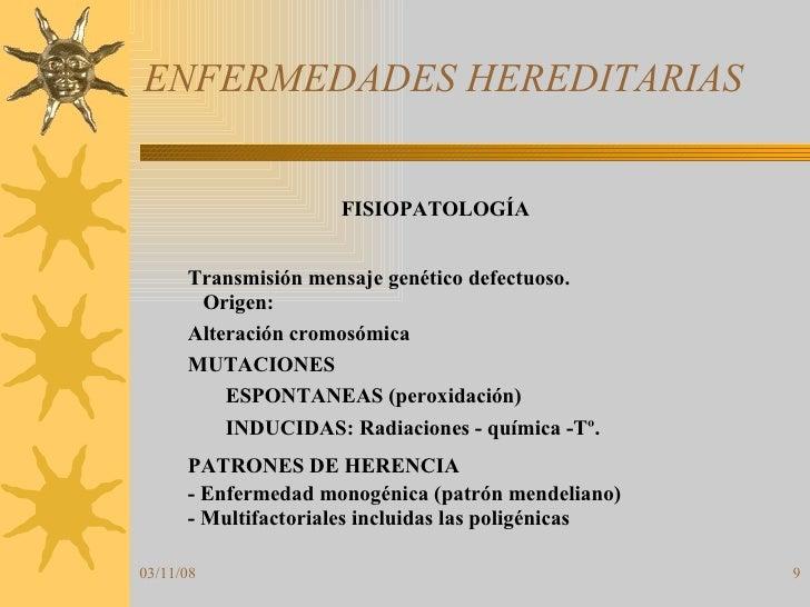 ENFERMEDADES HEREDITARIAS
