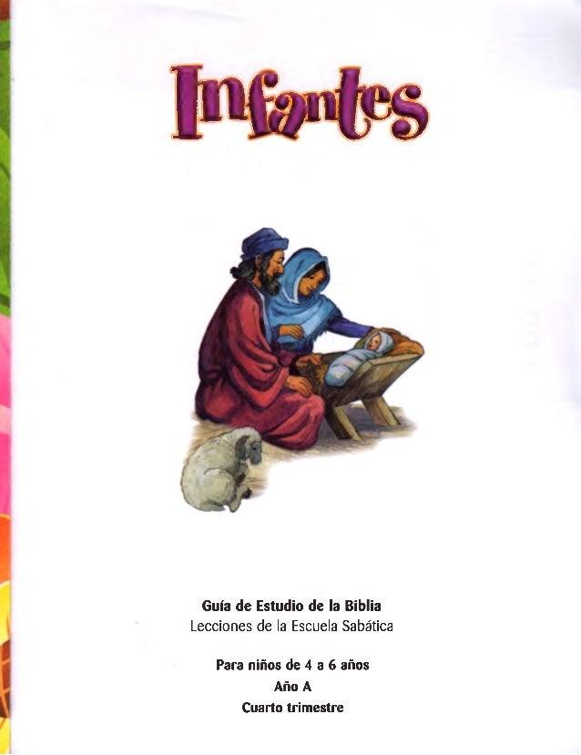pfr#s  Guía de Estudio de la Biblia  Lecciones de la Escuela Sabática  Para niños de 4 a 6 años Año A  Cuarto trimestre
