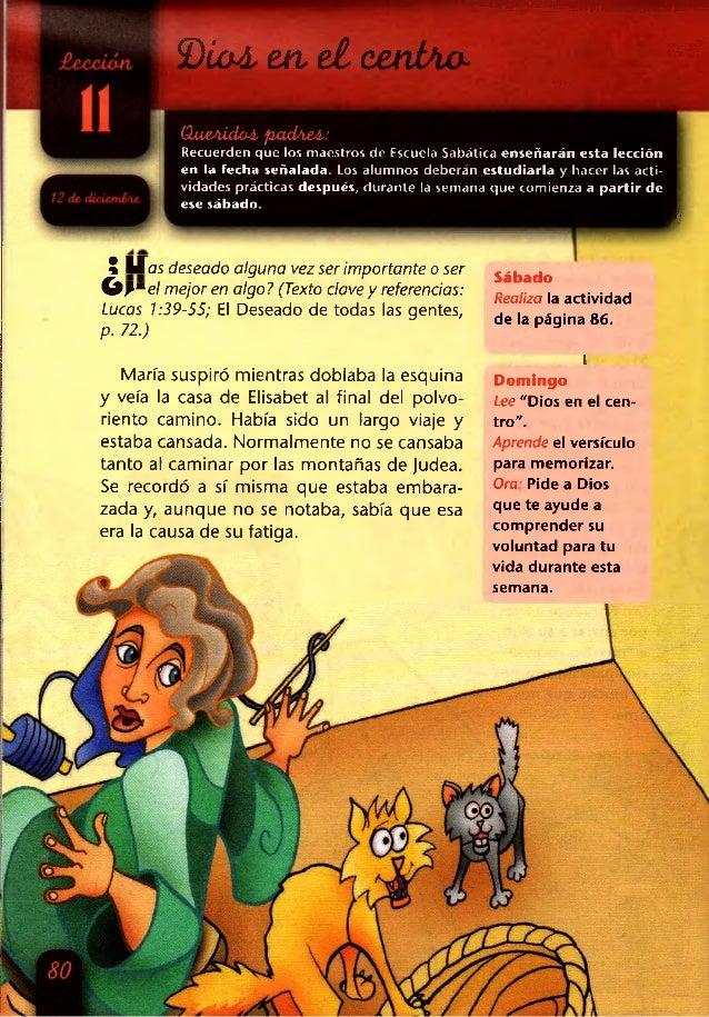 2)¿o¿ en,ei eenJAo- í&i mm ¡1|SS¡ (XueAÍdoA. padAeA: Recuerden que los maestros de Escuela Sabática enseñarán esta lección...