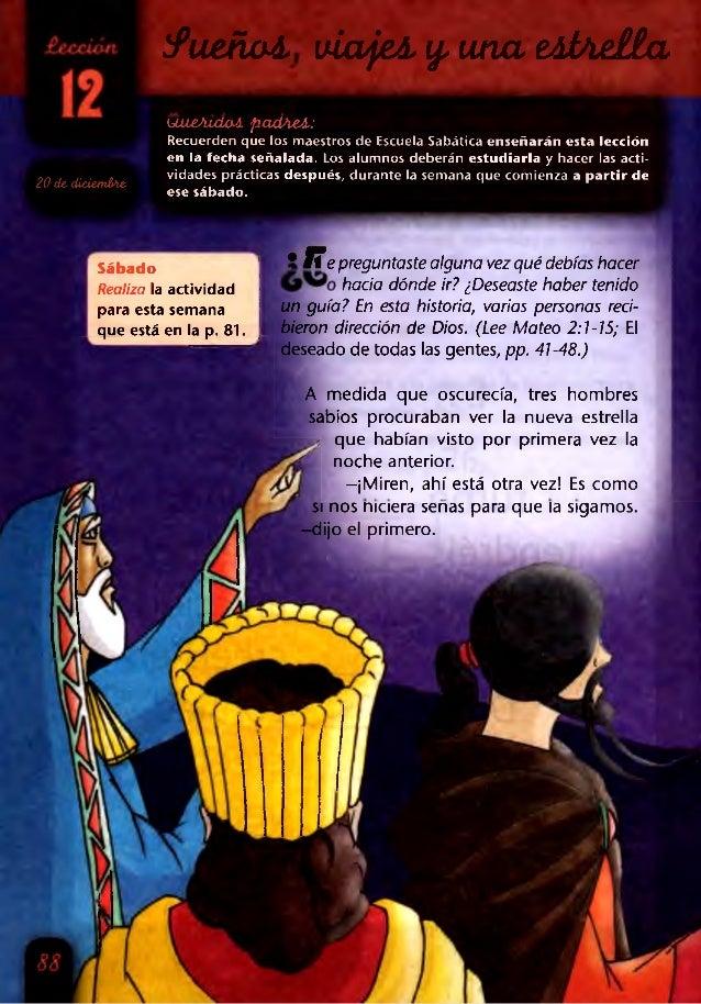 20 de diciemMe  ¡Pueñal viajeA. y. una eAÍAe££a  uueAuiaA f adAeí:  Recuerden que los maestros de Escuela Sabática enseñar...