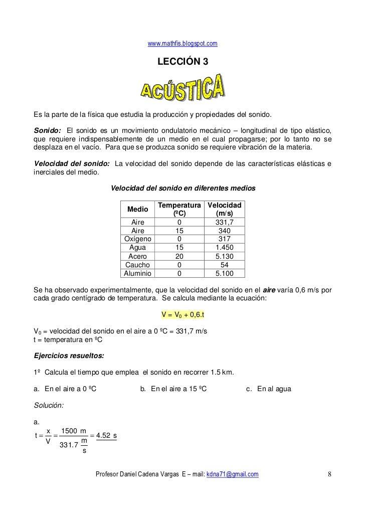 www.mathfis.blogspot.com                                          LECCIÓN 3     Es la parte de la física que estudia la pr...