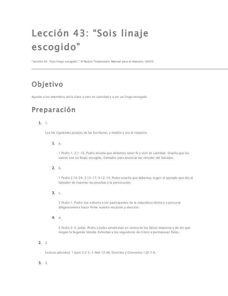 Lección 43