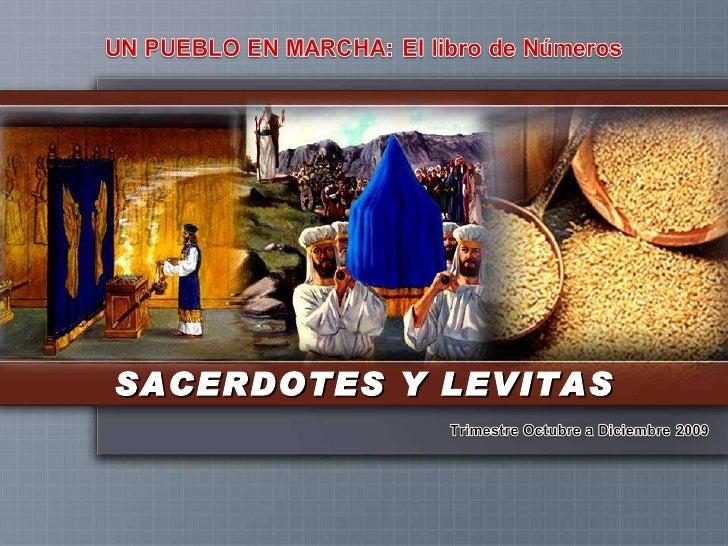 SACERDOTES Y LEVITAS