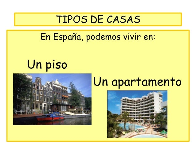 Leccion la casa - Intercambios de casas en espana ...