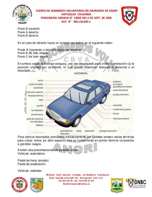 BOMBERO 1 ANORI Leccion 17 rescate vehicular