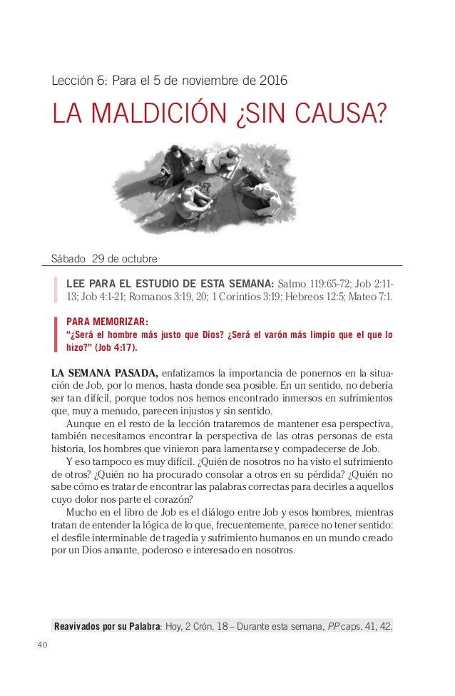 Lección de Escuela Sabática 4o Trimestre 2016 - El Libro ...