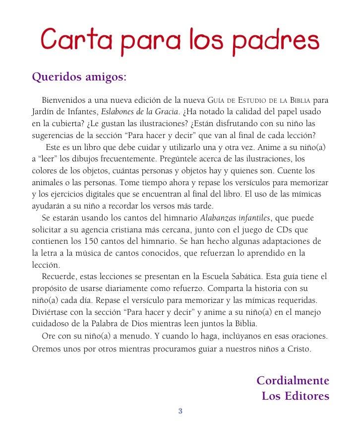 Leccion infantes 1 trim 2011 for Cancion de bienvenida al jardin