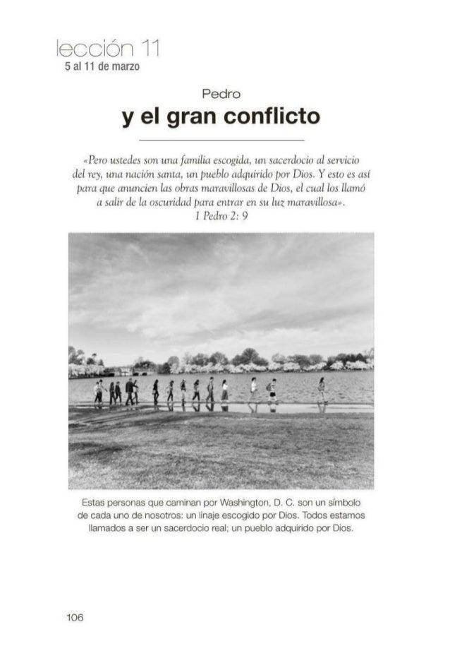 Leccion joven: Pedro y el Gran Conflicto