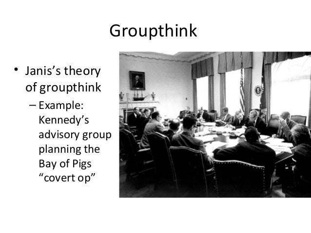 example for groupthink