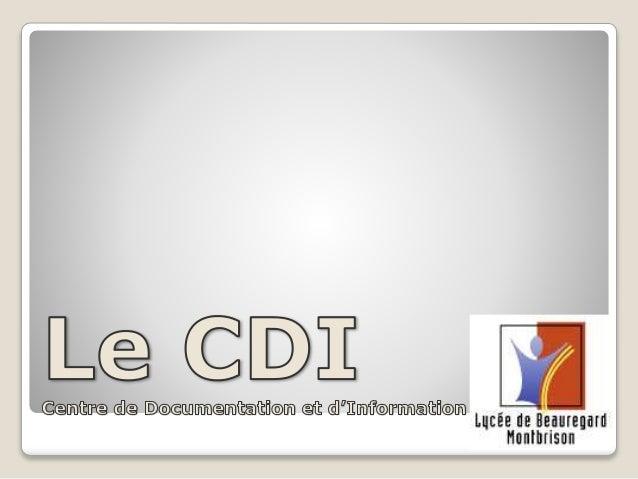 CDI Montbrison