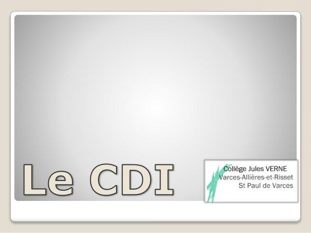 CDI Jules Verne (Varces) - Présentation
