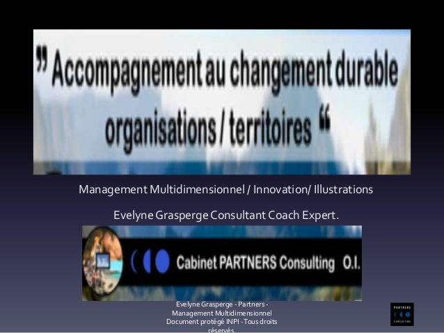Management Multidimensionnel / Innovation/ Illustrations Evelyne Grasperge ConsultantCoach Expert. Evelyne Grasperge - Par...