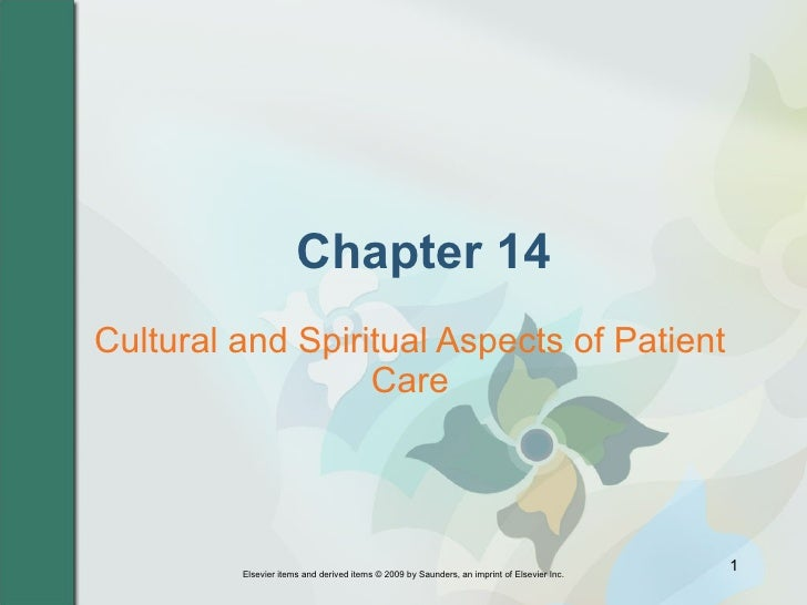 Chapter 14 Cultural and Spiritual Aspects of Patient Care