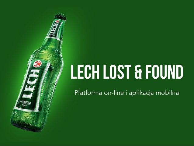 LECH Lost & Found     Platforma on-line i aplikacja mobilna