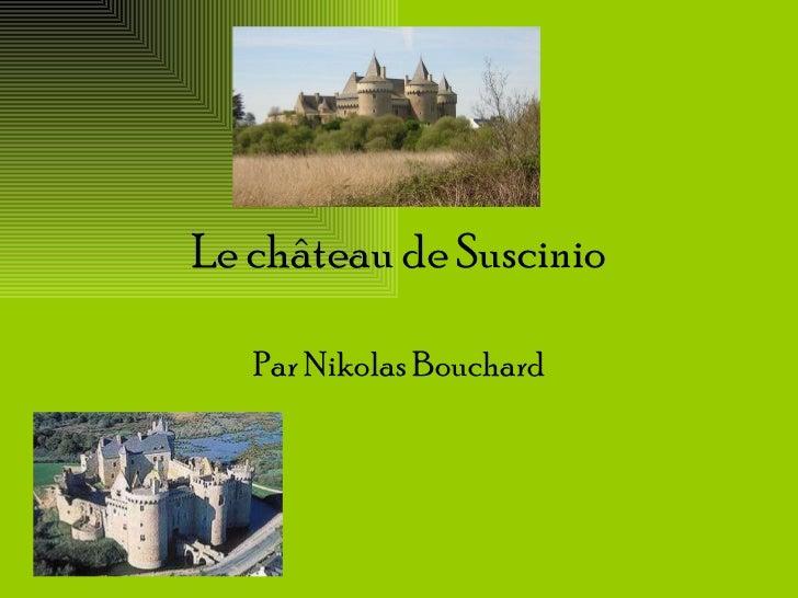 Le château de Suscinio Par Nikolas Bouchard