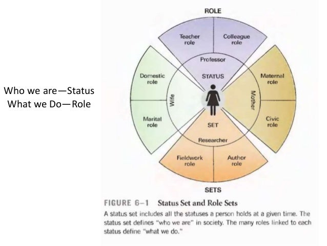 what is status and role