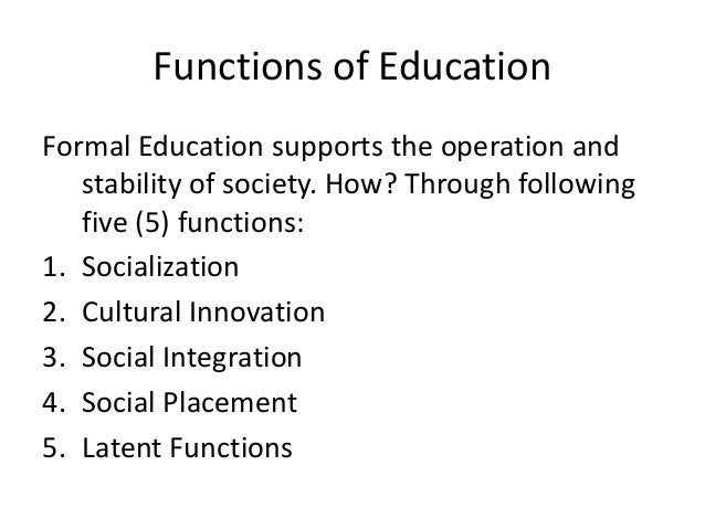 the purpose and function of educational institutions Define social institutions and identify their function describe the types of social institutions: economic, governmental, family, education and religion institutions to unlock this lesson you must .