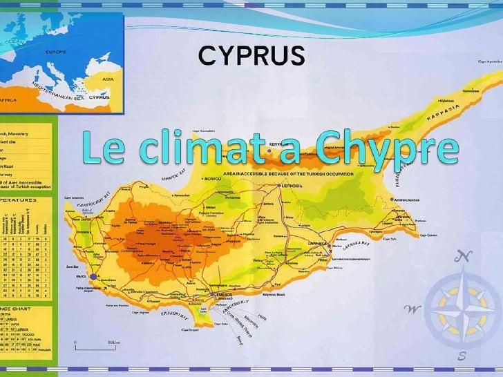 Le climat a Chypre<br />