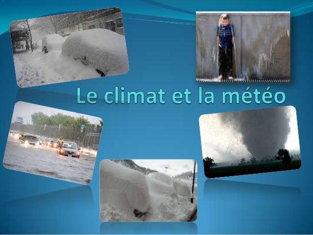 La météo est le premier sujet des conversations mondiales et souvent inspire des œuvres artistiques.