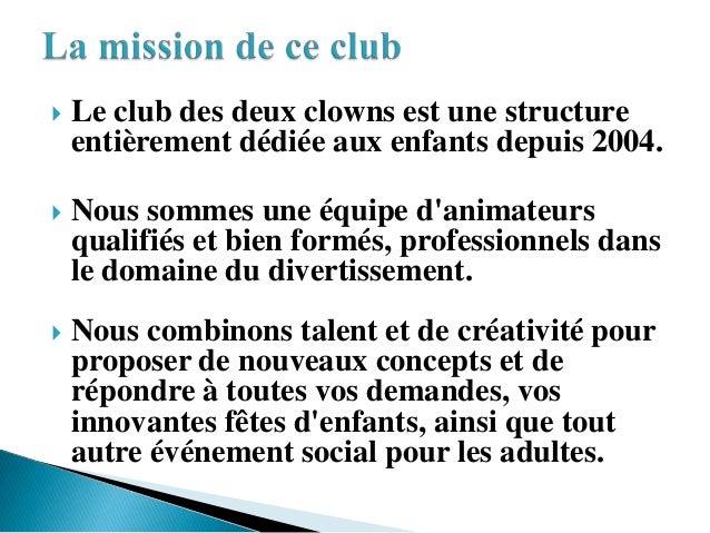 Le club des deux clowns Slide 2